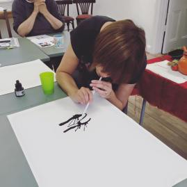 Expressive Inks Master Class With Tracy Fennell Illustration 1
