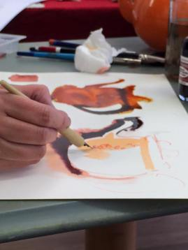 Expressive Inks Master Class With Tracy Fennell Illustration 3