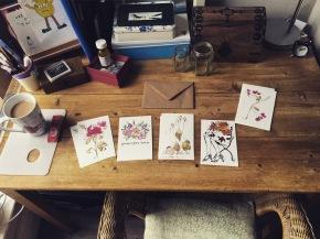 New postcard designs